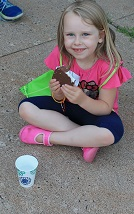 Libby eating a Klondike at VBS.jpg